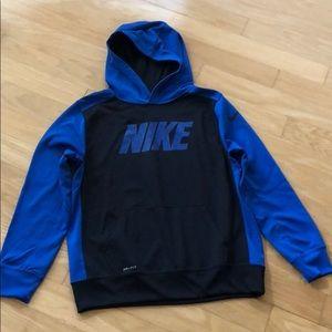 Boys Nike Dri Fit Hooded Jacket